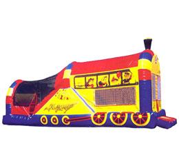 Jump N Slide Train 3 in 1 Combo