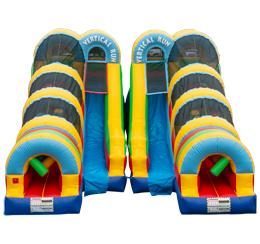 Vertical Run Obstacle Course