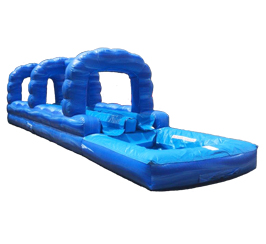 Blue Crush 2 Lane Slip N Slide w/Pool