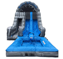 Rock-N-Splash 2 Lane Water Slide